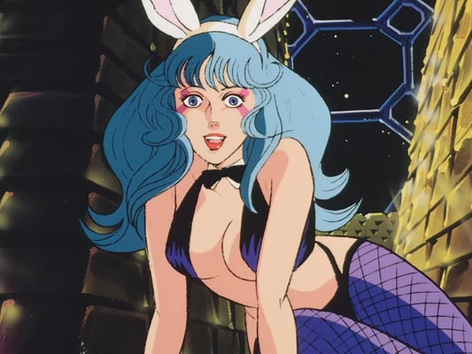 "Example of ""bunny girl,"" banii gaaru バニーガール."