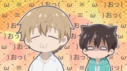 Tsukimiya Utsugi 月宮ウツギ, and Koyuki Seri 小雪芹. Example of cat mouth, cat ears.