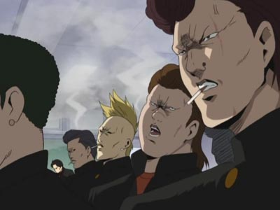 Example of delinquent characters.