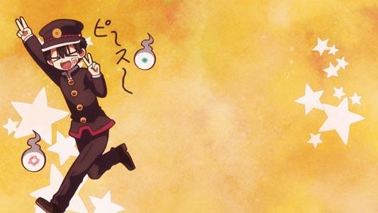 "Hanako 花子 doing a ""double peace"" sign, daburu piisu ダブルピース."