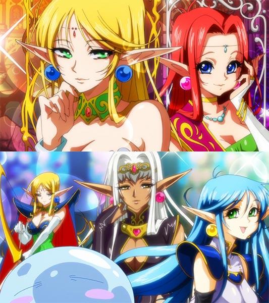 Rimuru リムル imagining elves.