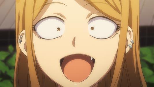 Endou Saya 遠藤サヤ, example of anime fang, yaeba 八重歯.