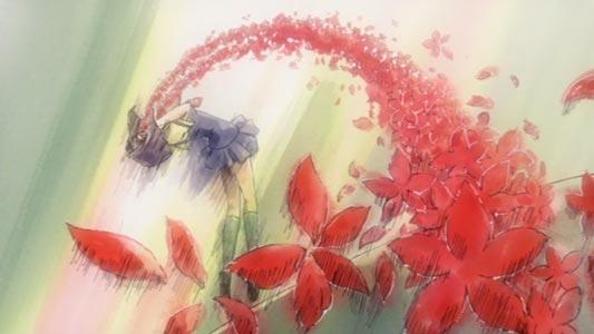 Maaka Karin 真紅果林 has a flower-shaped nosebleed.