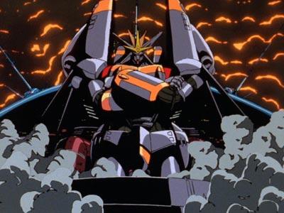 GunBuster, ガンバスター, doing the iconic Gainax Stance (ガイナ立ち).