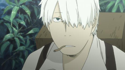 Ginko ギンコ, example of one-eyed character.