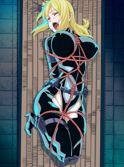 """Nancy Lee, ナンシー・リー, example of hishinawa shibari 菱縄縛り, """"diamond-shaped rope bondage."""""""