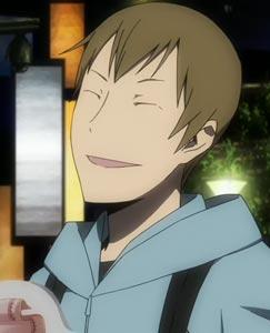 "Yumasaki Walker 遊馬崎ウォーカー, example of ito-me 糸目, ""string eyes."""