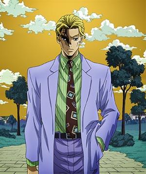 Kira Yoshikage 吉良吉影, example of salaryman.