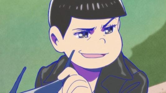 """Karamatsu カラ松 and his kusogao クソ顔, """"shit face."""""""