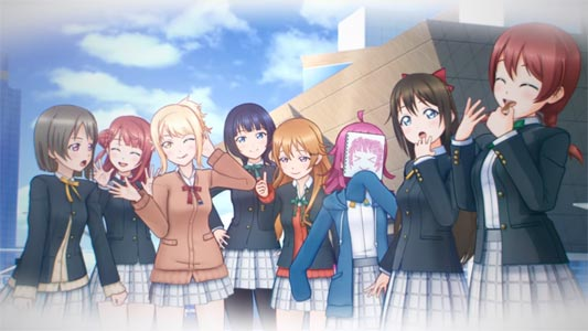 Love Live! School Idol ALL STARS characters.