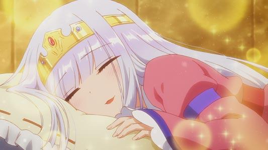 "Aurora Suya Rhys Kaymin オーロラ・栖夜・リース・カイミーン, example of ""sleeping face,"" negao 寝顔."