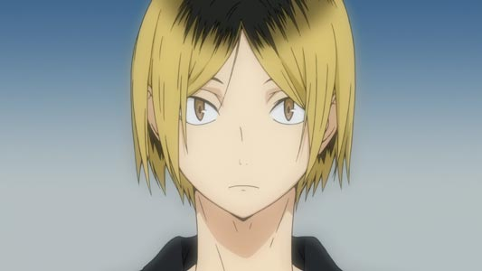 "Kozume Kenma 孤爪研磨, example of ""cat eyes,"" nekome 猫目."