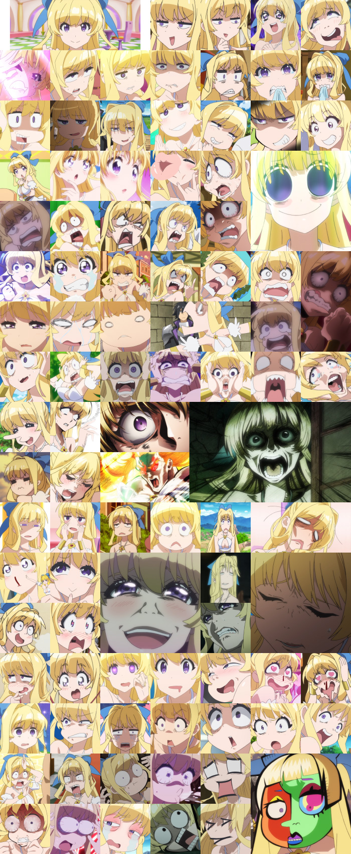 Ristarte's faces