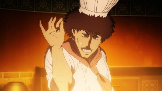 Jamo, ジャーモ, example of salt bae parody.